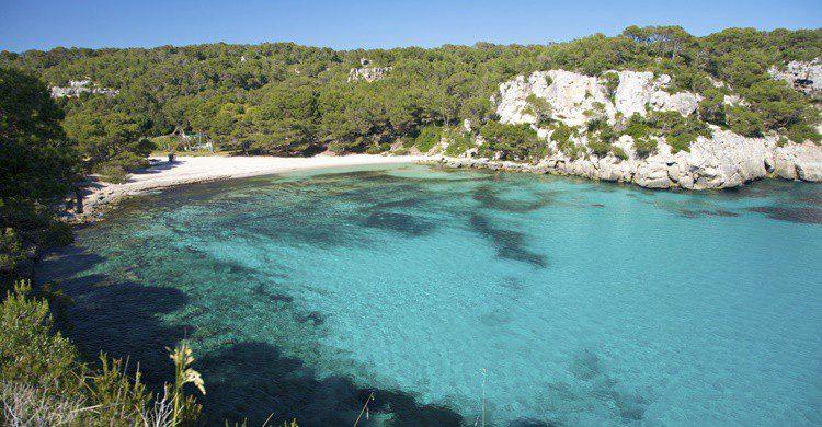 Pequeña playa de Menorca. Quintanilla (iStock)