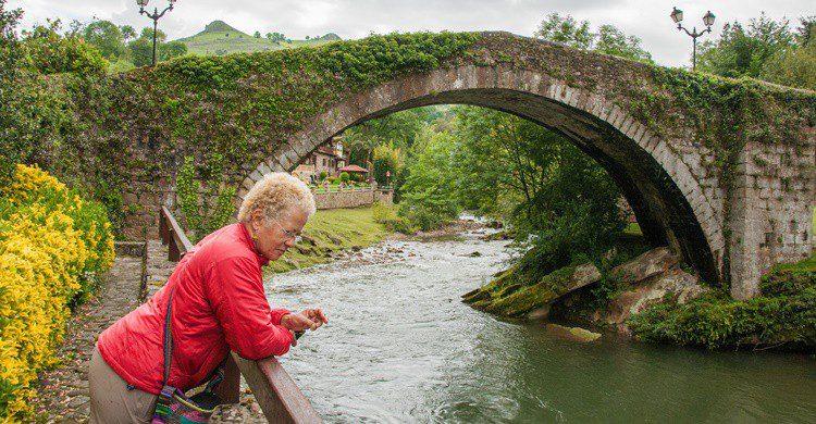 Liérganes y su río. Graeme Churchard (Flickr)