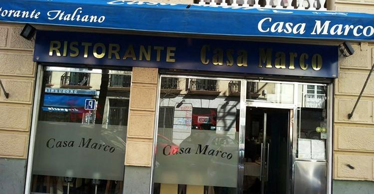 Fachada del restaurante (Casa Marco, Facebook)