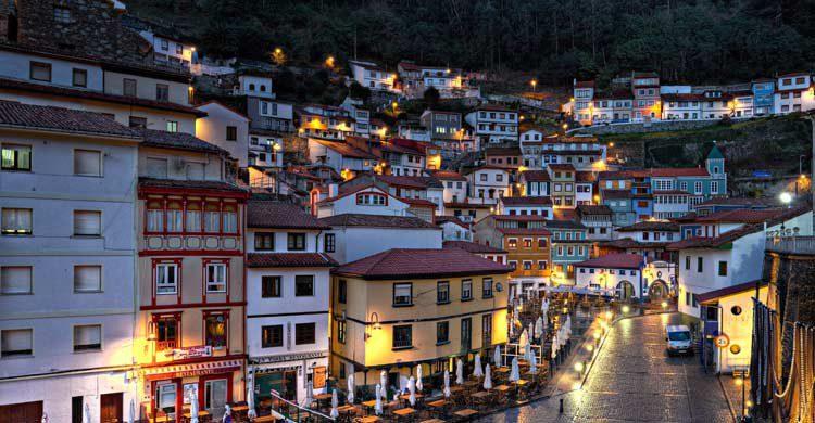 Cudillero, en Asturias (wikimedia.org)
