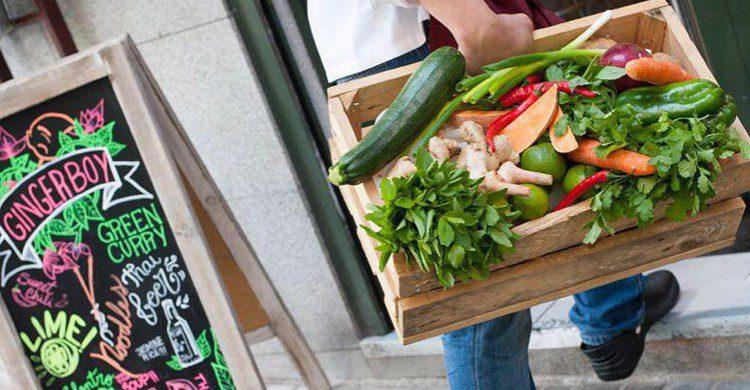 Caja de verduras (Gingerboy Madrid, Facebook)