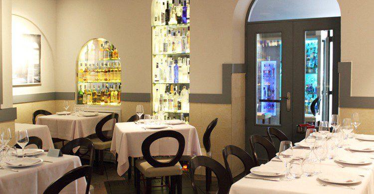 Una de las salas del restaurante (Web del restaurante Kasanova)