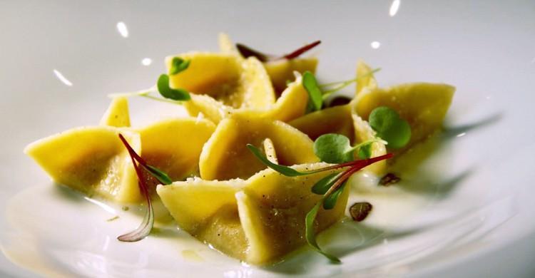 Uno de los platos de pasta del restaurante (Sinfonía Rossini, Facebook)