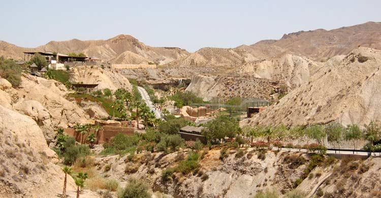 Desierto de Tabernas (wikimedia.org)