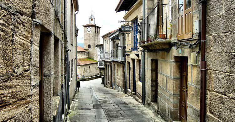 La rehabilitación del casco histórico de Allariz mereció el Premio Europeo de Urbanismo (Flickr)