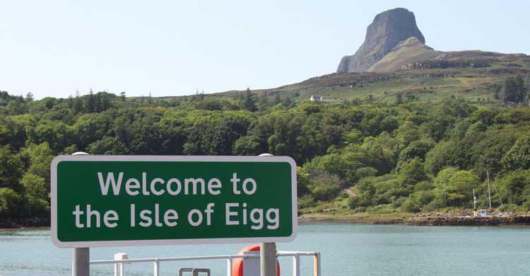 Isla de Eigg en las Hébridas Escocesas, Reino Unido (Flickr)