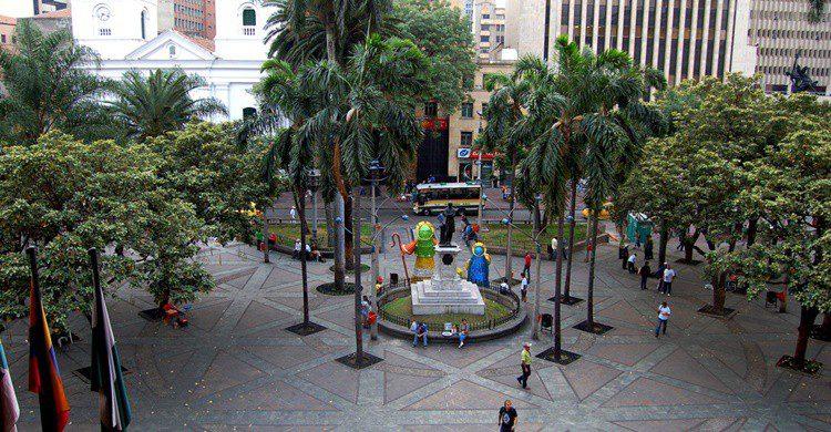 Parque Berrío de Medellín. Omar Uran (Flickr)