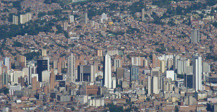 Vista de Medellín. Iván Erre Jota (Flickr)