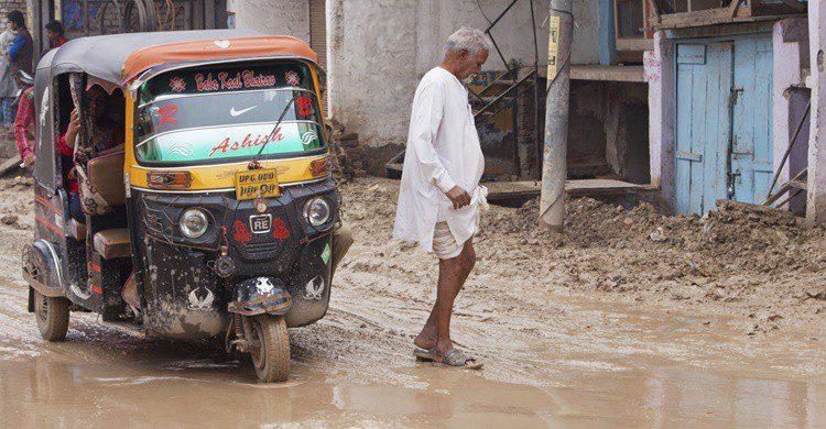 Calle de la India tras una lluvia. Pjhpix (iStock)