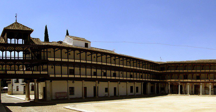 Plaza Mayor de Tembleque. santiago lopez-pastor (Flickr)