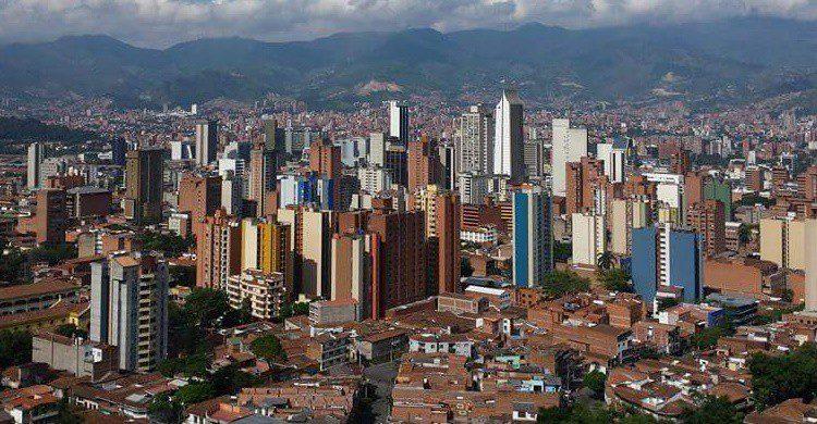 'Skyline' de Medellín. Iván Erre Jota (Flickr)