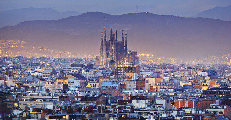 Vista de Barcelona. Kanuman (iStock)