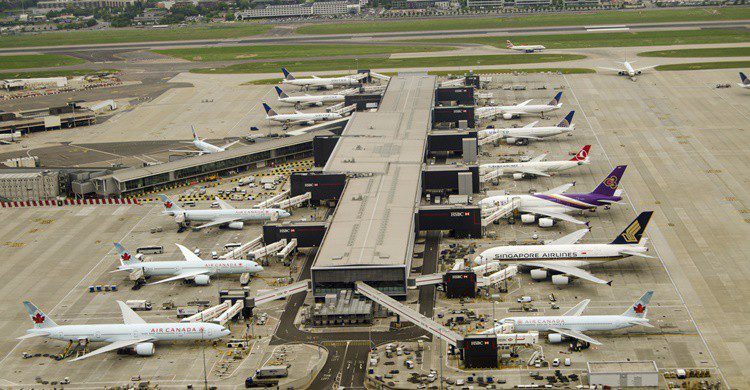 Aeropuerto de Heathrow en Londres. Amanda Lewis (iStock)