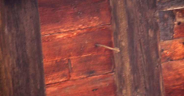 Flecha en casa Isolani. Mike Peel (www.mikepeel.net). (Wikipedia Creative Commons)