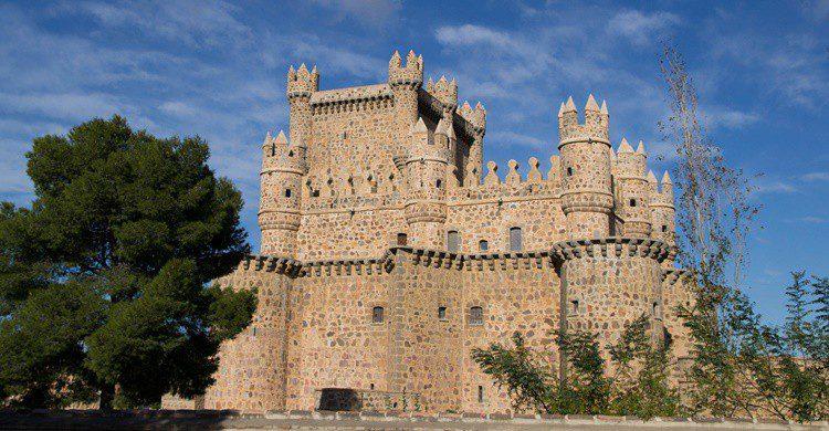 Castillo de Guadamur. Giborn_134 (Flickr)