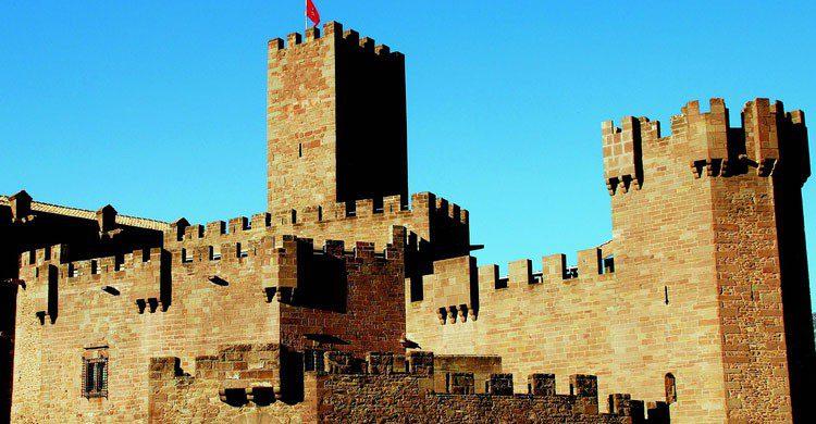 Las pinturas de la danza de la muerte estan en el castillo de Javier. (Flickr)
