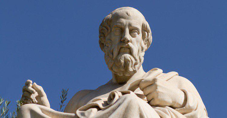 Estatua de Platón en Grecia. Hurricanehank (iStock)