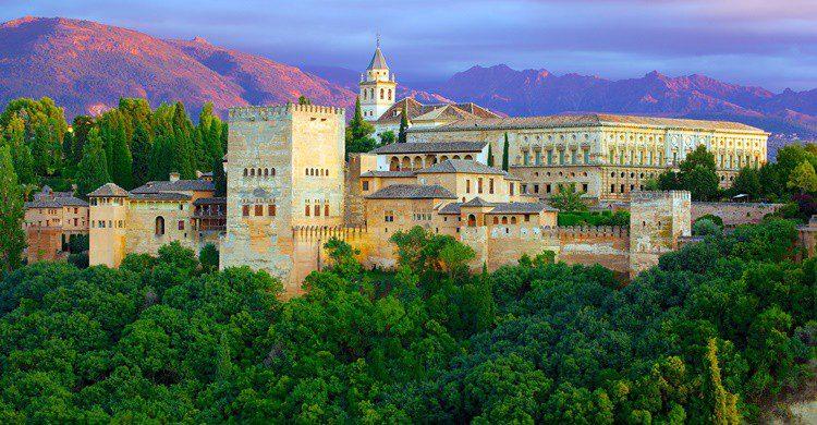La Alhambra desde el mirador de San Nicolás. Jiuguang Wang (Flickr)