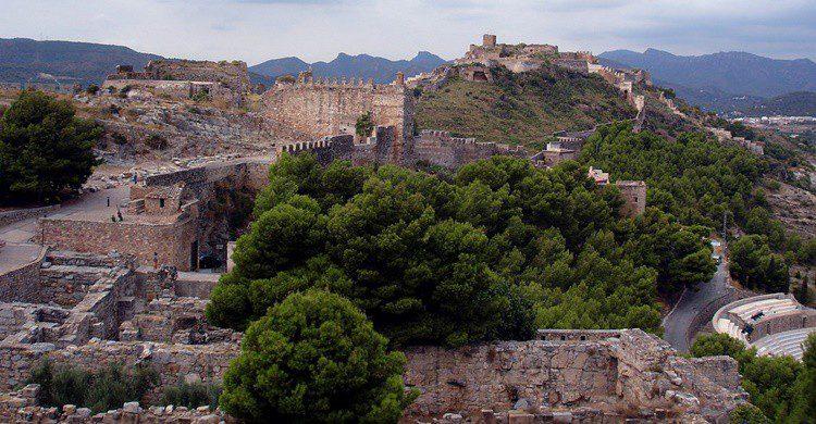 Castillo de Sagunto. santiago lopez-pastor (Flickr)