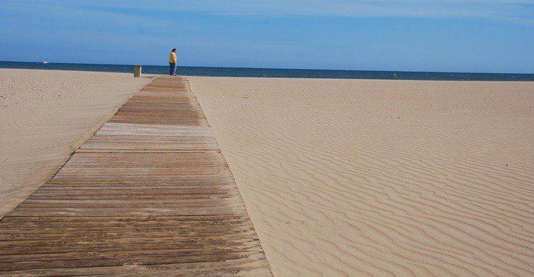 Playa en Isla Canela. Gert Mewes (Flickr)
