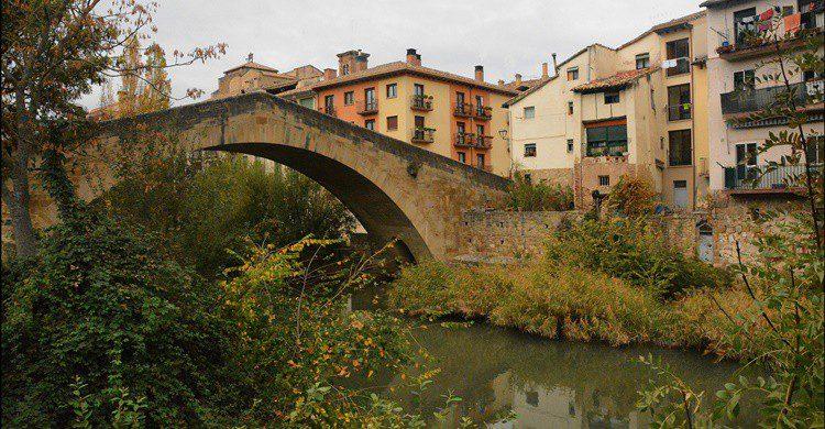 Puente de la Cárcel de Estella. Miguel Ángel García. (Flickr)