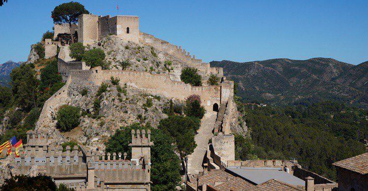 Castillo de Xátiva. Jorge Sanz (Flickr)