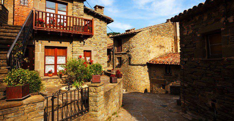 Pueblecito de Cataluña. JackF (iStock)