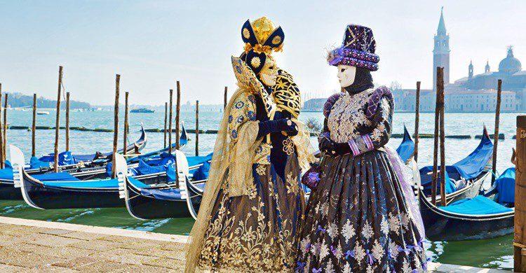 Disfraz típico del carnaval. Lachris77 (iStock)