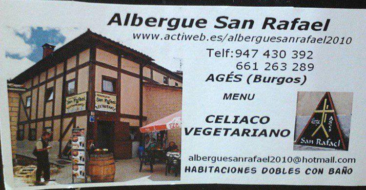 Publicidad del Albergue San Rafael (https://www.facebook.com/profile.php?id=100008665008223&fref=ts)