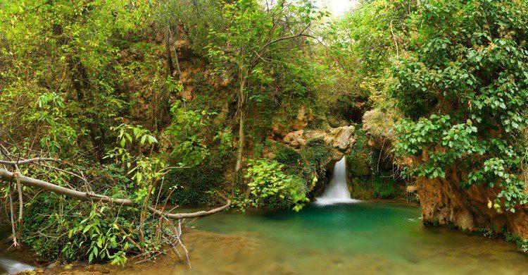 Cascada en Ademuz. Lluis Satorre Gonzalez (Flickr)
