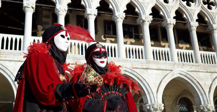 Disfraz de carnaval en Venecia. Melodija (iStock)