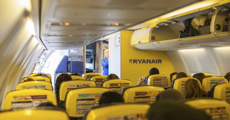 Aviones de Ryanair (iStock)