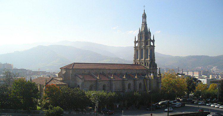 Basílica de Begoña (Fernando Jiménez, Flickr)