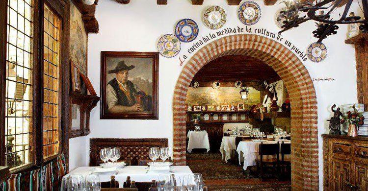 Cándido, un lugar con solera para degustar un buen cochinillo (Fuente: mesondecandido.es)