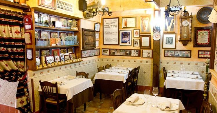 Vista del comedor (Web del restaurante Casa Granero)