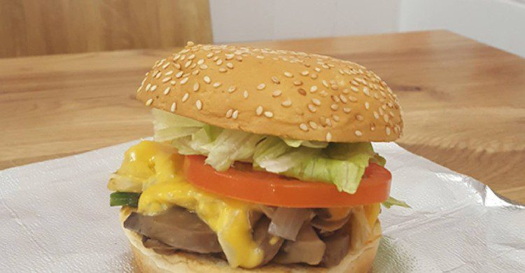 Ser vegetariano puede ser delicioso (Five Guys, Facebook)