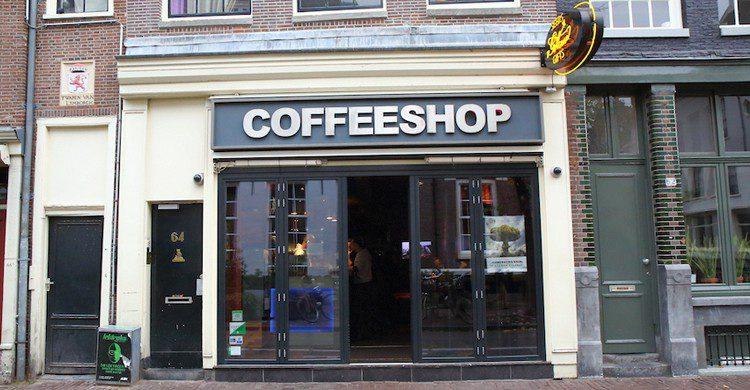 Fachada del coffee shop (Web de Green House)
