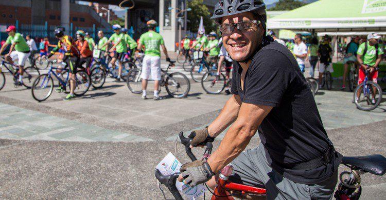 No lleves auriculares cuando montes en bicicleta (Flickr)