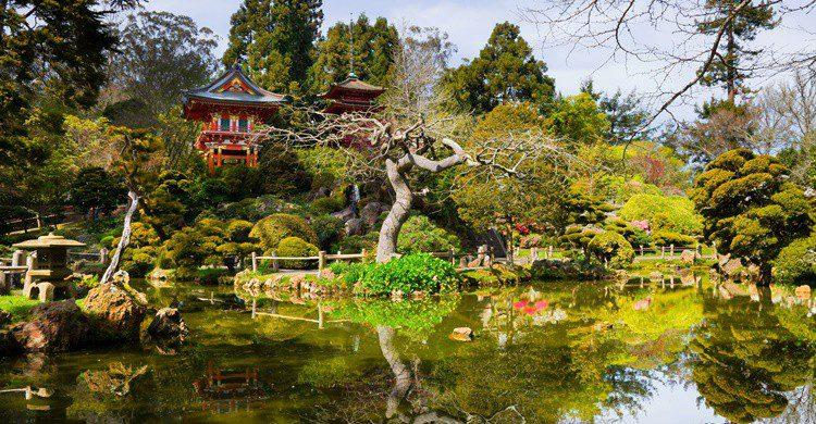 Jardín de té japonés en el Parque del Golden Gate. Photoquest7 (iStock)