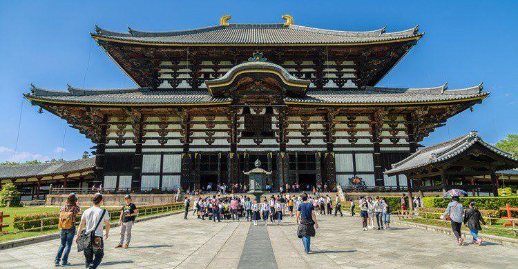 Templo de Todaiji en Japón. Finallast (iStock)