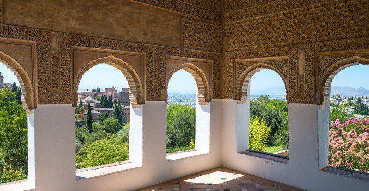 Torre en la Alhambra. Gim42 (iStock)