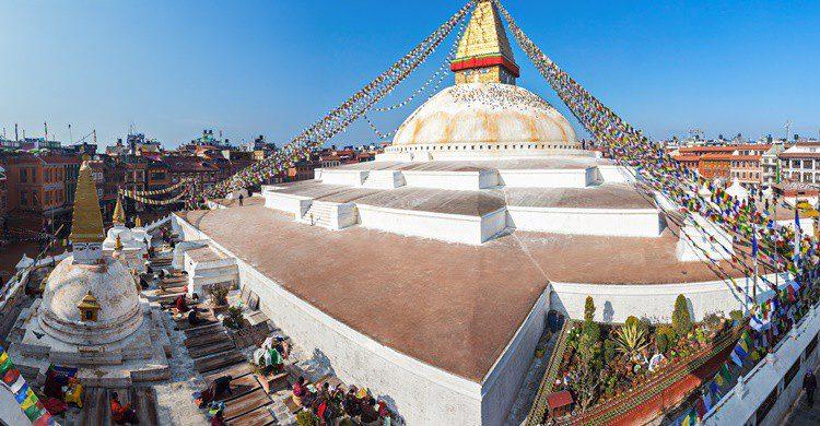 Templo de Boudhanath en Nepal. Saiko3p (iStock)