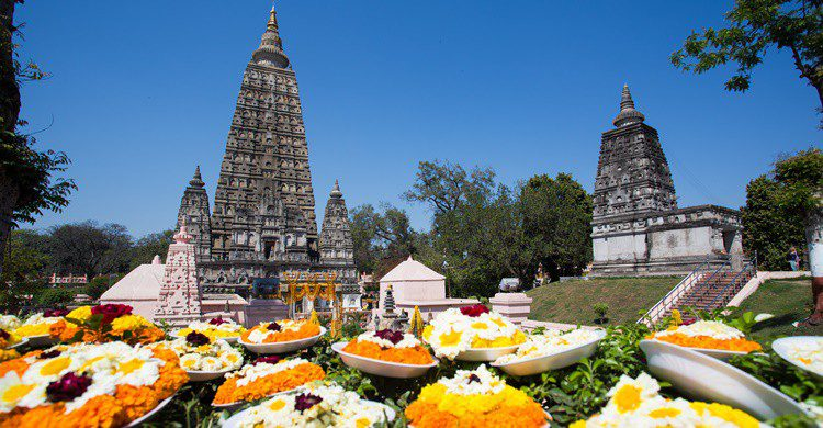 Templo de Mahabodhi en la India. Rufous52 (iStock)
