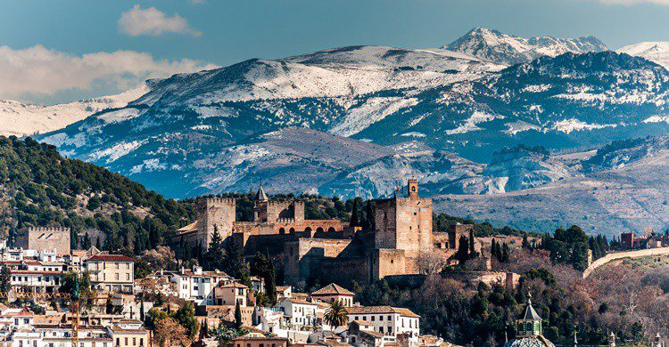 Vista de las montañas cercanas a la Alhambra. 1Tomm (iStock)