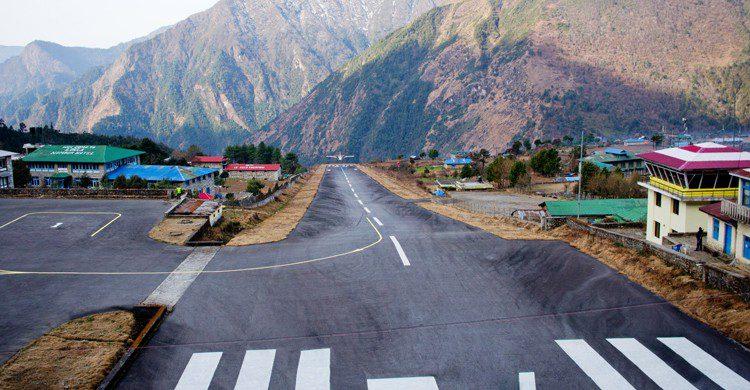 Aeropuerto de Tenzing-Hillary en Nepal (iStock)