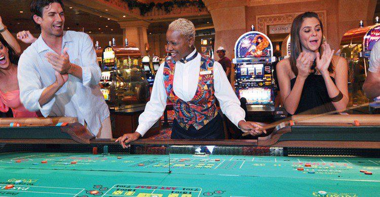 Mesa de juego (Web del Atlantis Bahamas)