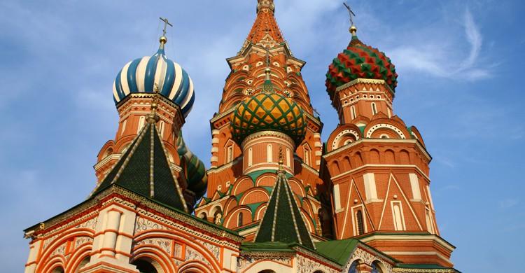Catedral de San Basilio de Moscú (wikimedia.org)