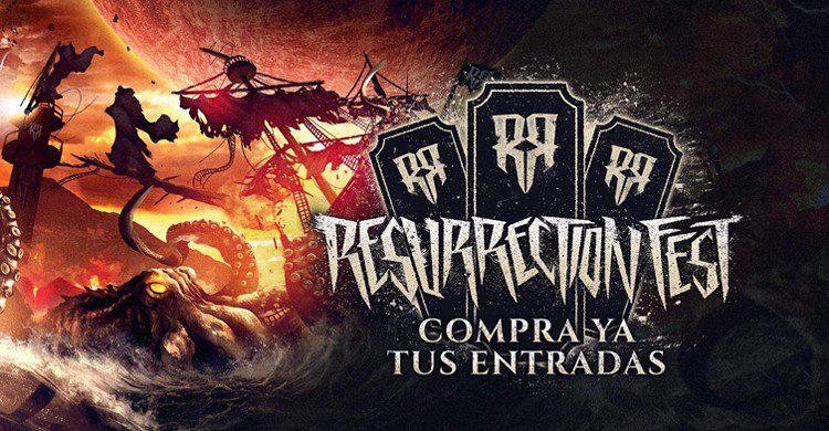 Cartel de entradas (Web del Resurrection Fest)