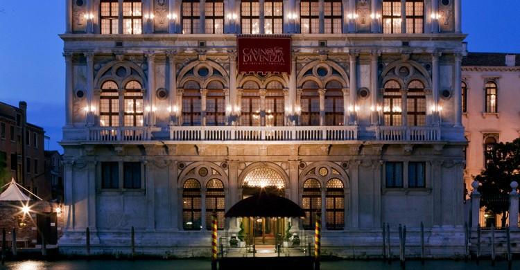 Vista de la fachada (Web del Casino Venezia)