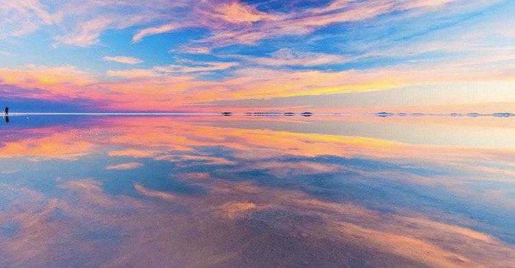 Efecto visual en Salar de Uyuni (Pixabay)